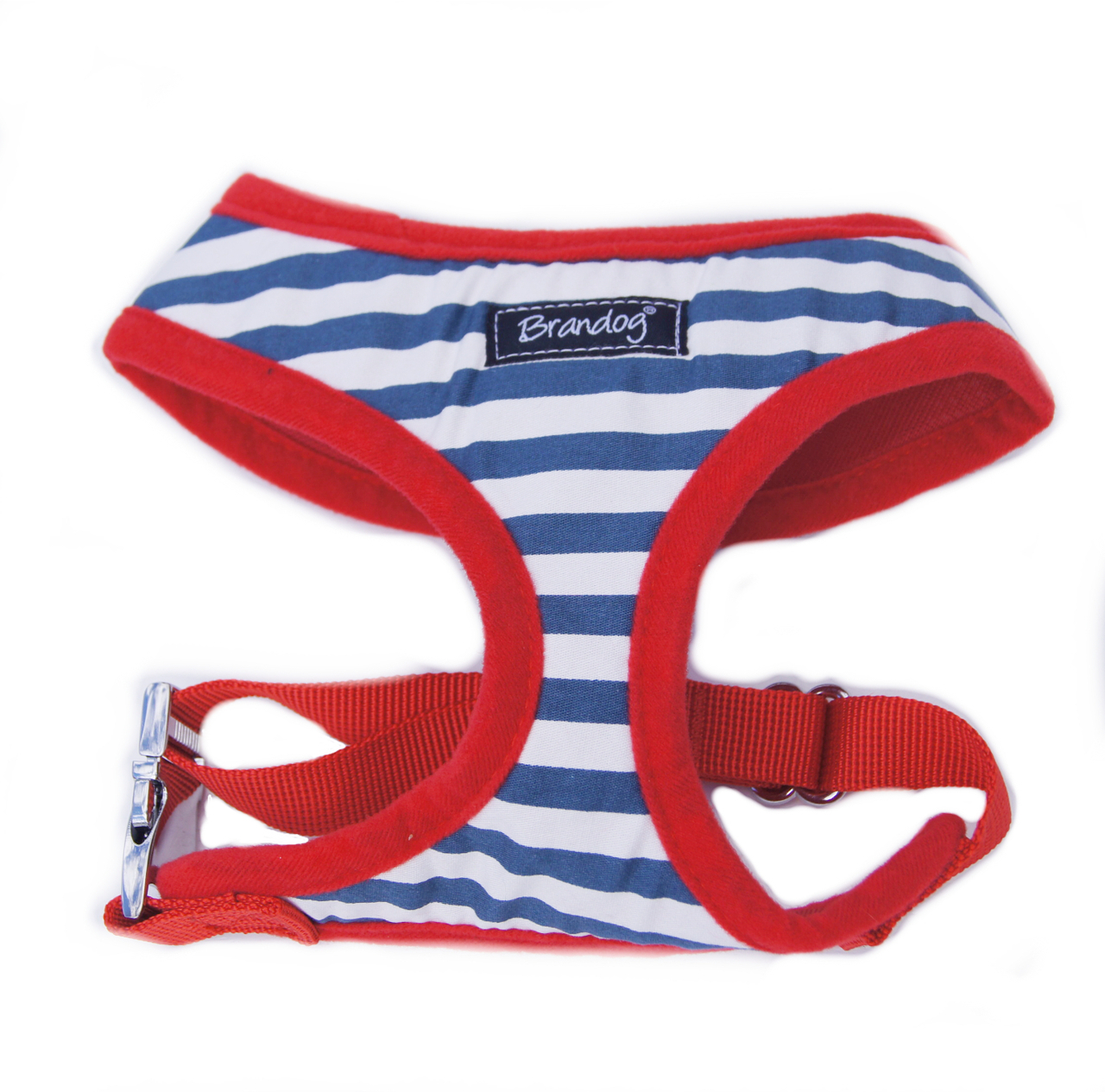 Brandog ''Nautical'' Harness + Leash Set