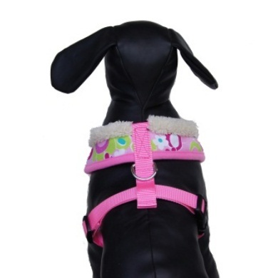 """Retro Pooch"" Dog Leash (Pink)"