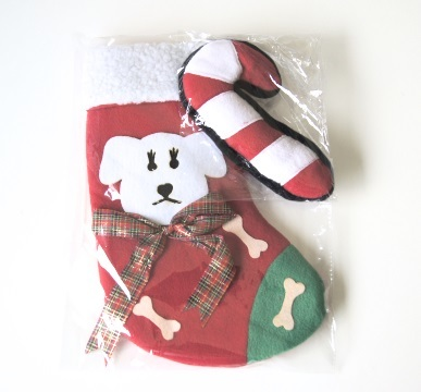 Christmas Stocking and Plush Toy