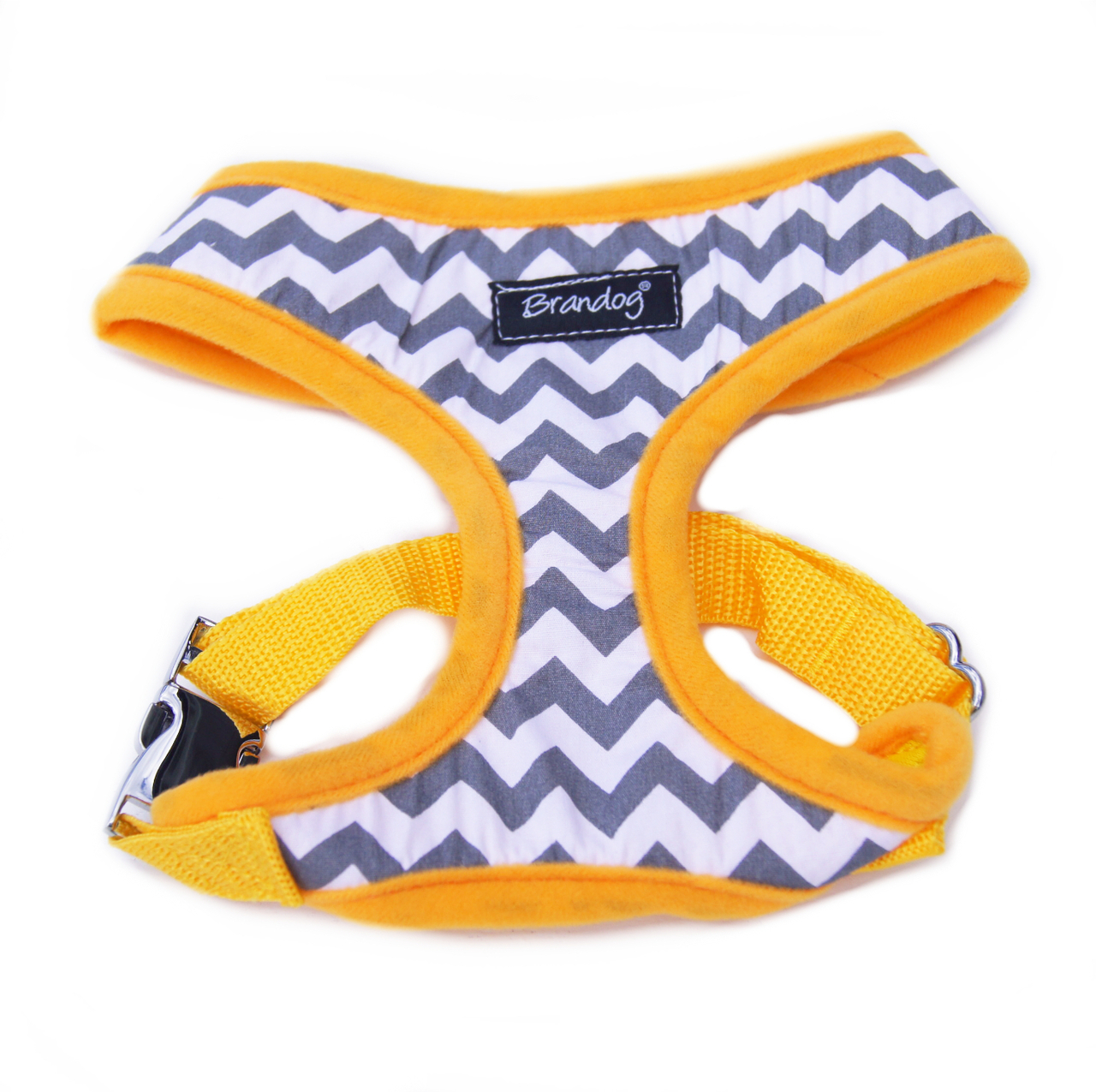 "Brandog ''Chevron"" Dog Harness + Leash Set"