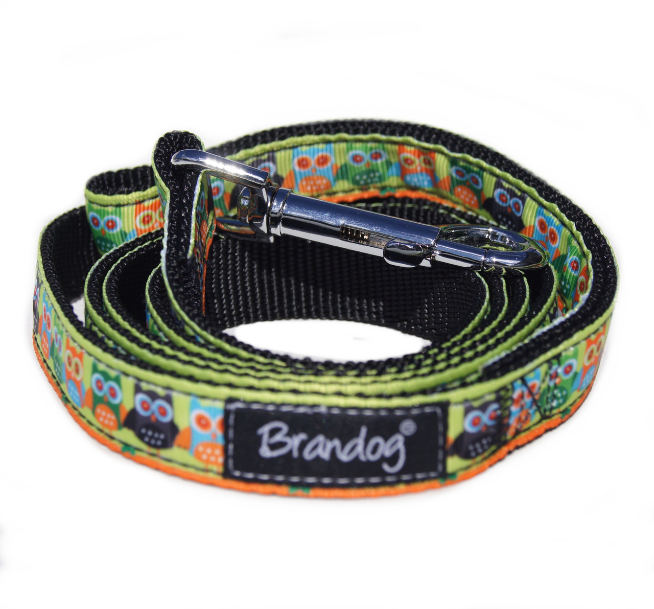 Brandog ''Hoot'' Collar + Leash Set