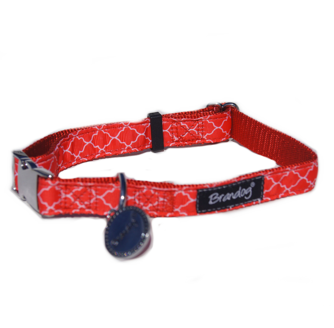 "Brandog ""Moroccan Red"" Collar + Leash Set"