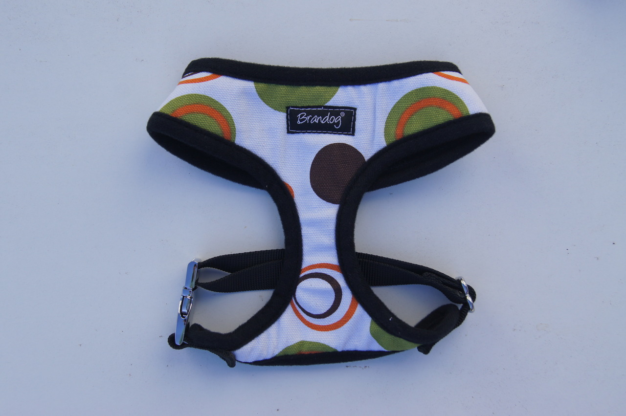 Brandog ''Retro Spots'' Dog Harness