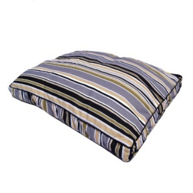 """Siesta"" Stripe Delight Dog Bed Cushion"