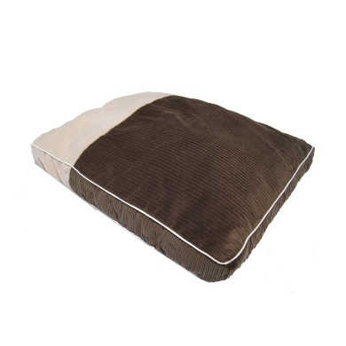 """Siesta"" Mocha"" Dog Bed Cushion"