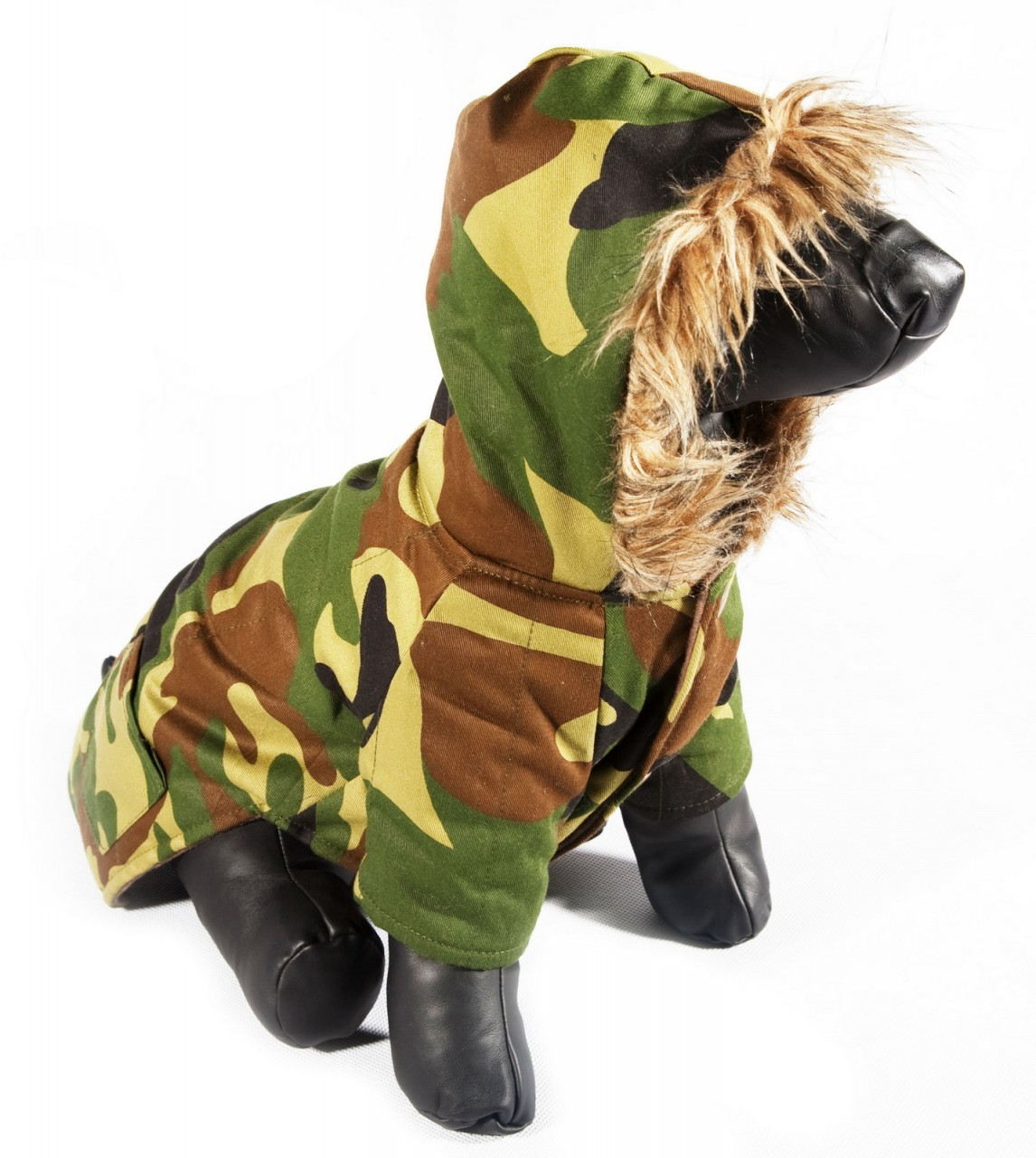 """Bruno"" Camo Dog Coat"